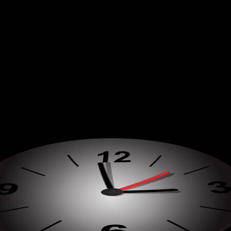 Vector clock icon photo