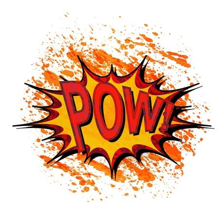 Comic book explosion. Stock Photo - 16539989