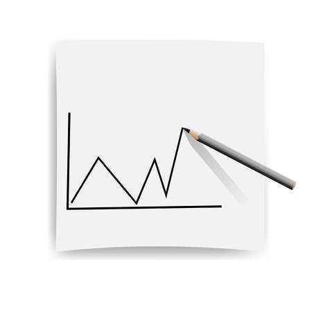 ordinate: draw a rating scale on paper with a pencil