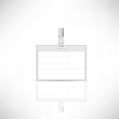 Vector (name tag )on white background. Stock Photo - 17396851