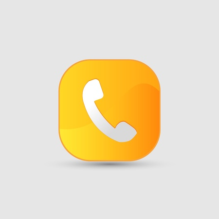phone icon Stock Photo - 17396817