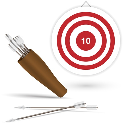 pointed arrows: arrows for archery and target