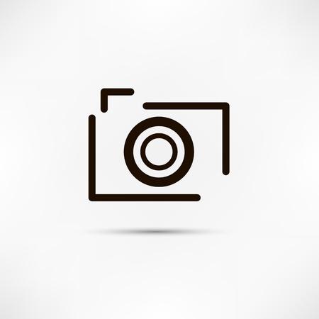 photo camera: Icona della fotocamera
