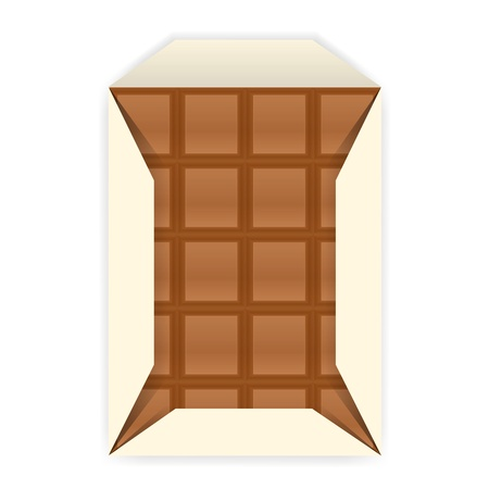 Chocolate bar. Stock Vector - 17398175