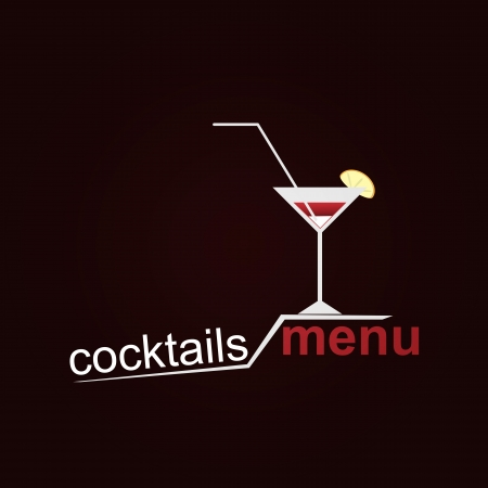 Coctails Menu Illustration