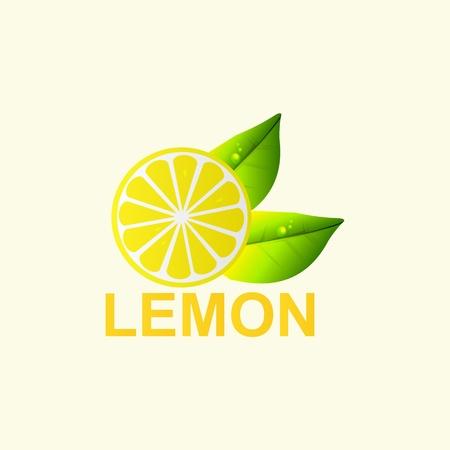 Vector. Fresh lemon. Stock Vector - 17398004