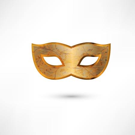 beauty mask: Carnival Mask. Vector illustration. Illustration