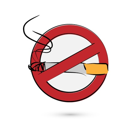 no smoking sign Stock Vector - 17397895
