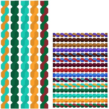 plaits: Decorative border ornaments Illustration
