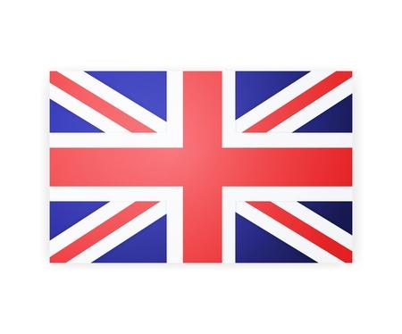 british culture: flag london background.