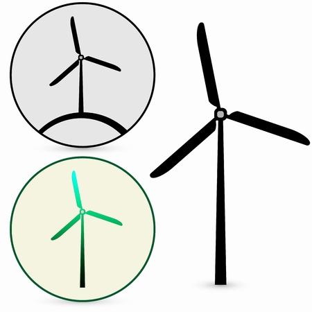 Wind Turbine, vector Stock Vector - 17397913
