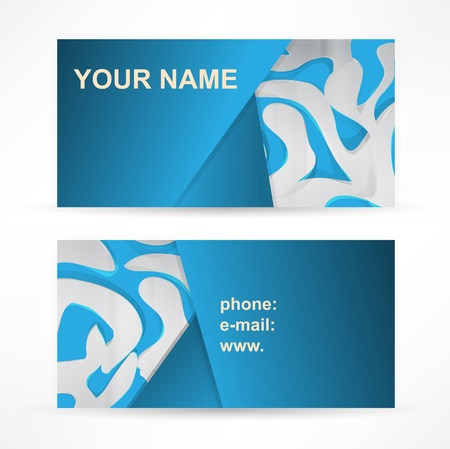 whit: Abstract header blue wave whit vector design
