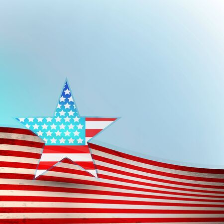 star spangled: USA flag