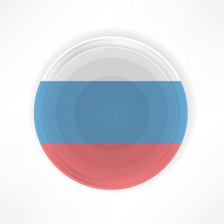 russian food: Traditional Russian restaurant Illustration