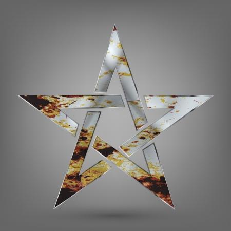 silver star Stock Vector - 17945627