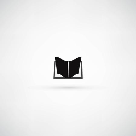 book icon Stock Vector - 21991408