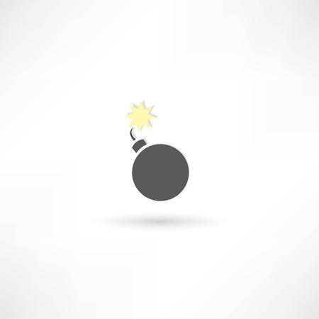Bomb icon Stock Vector - 21991452