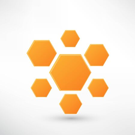 Honey icon isolated on white Stock Vector - 21991921