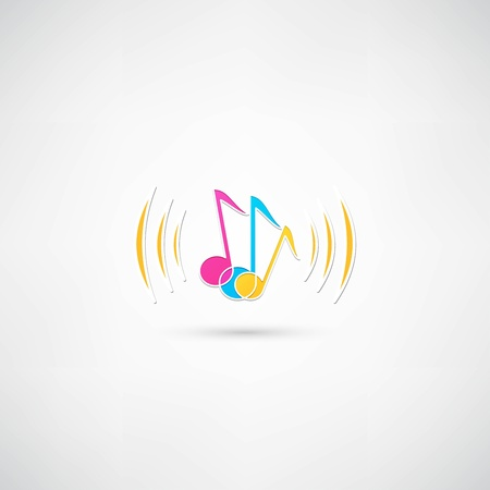 Music icon Stock Vector - 21992295