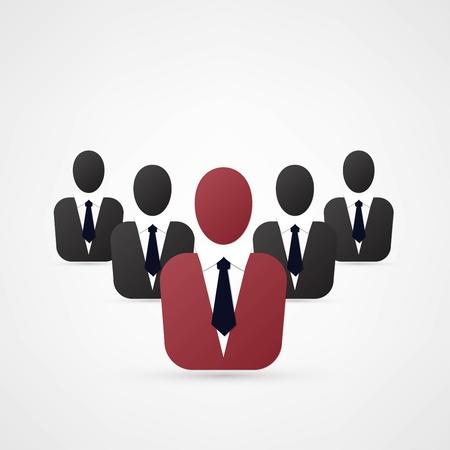 leadership concept Stock Vector - 21993377