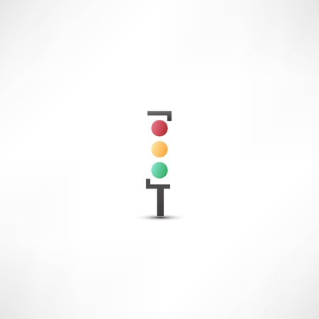 Traffic lights icon Stock Vector - 21993380