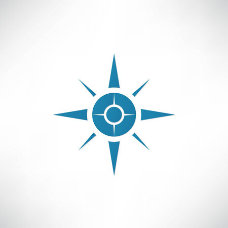 compass rose: Compass Icon