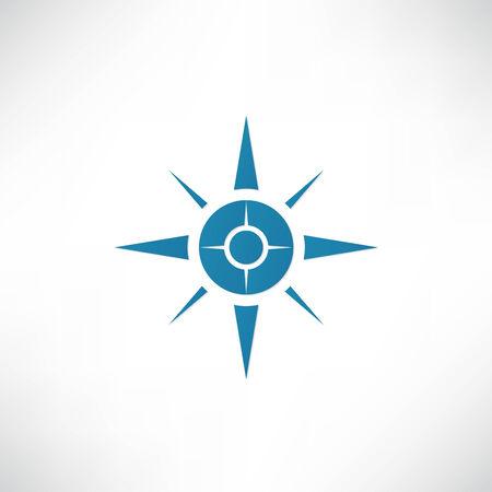 nautical star: Compass Icon