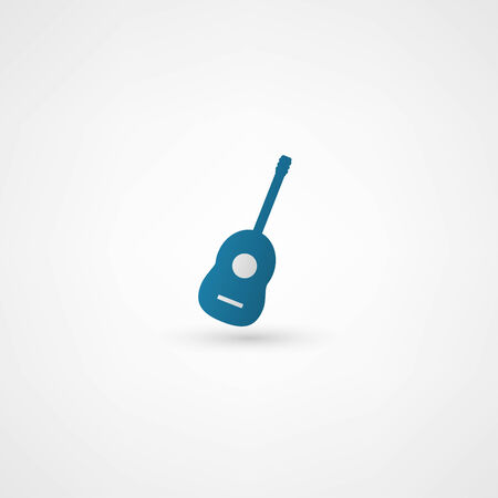guitar icon Vector