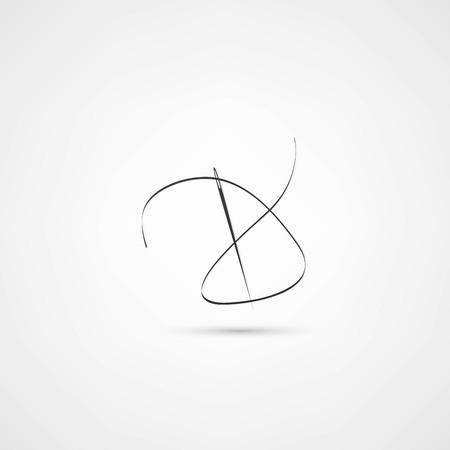 seamstress: seamstress icon Illustration