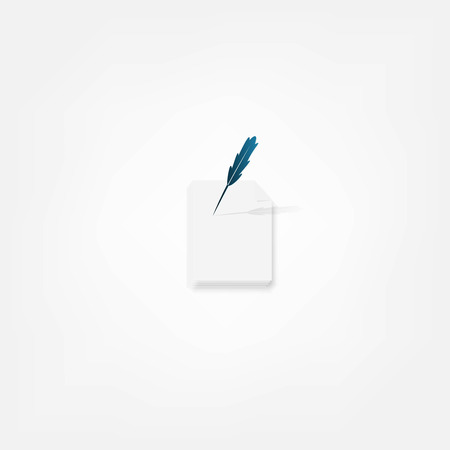 Pen icon Stock Vector - 24382803