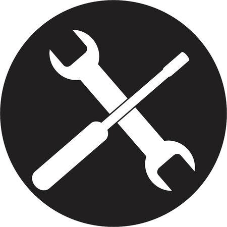 Setting icon Stock Vector - 24585411