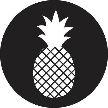 pineapple: pineapple icon Illustration