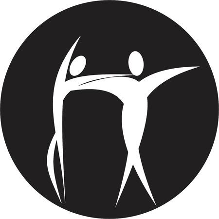 men's shoes: dancer icon