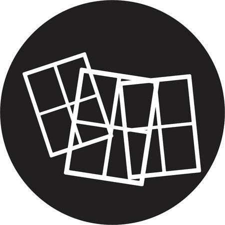 installateur: Venster pictogram