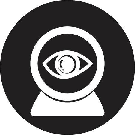 Web camera eye icon Vector