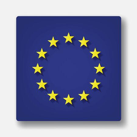 european culture: EU flag