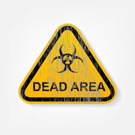 radiation warning sign Stock Vector - 24587214