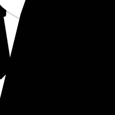 bacground: business suit with a tie. vector bacground