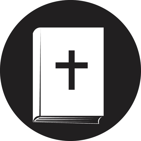 Bible book icon Illustration