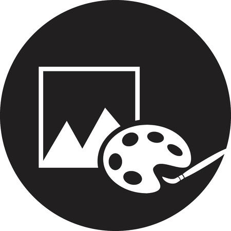 Vector photograph icon
