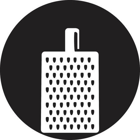 reibe: Reibe f�r Gem�se und Fr�chte Symbol