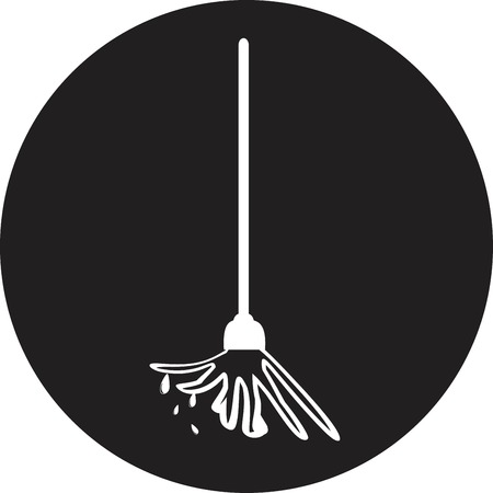 mop the floor Vector