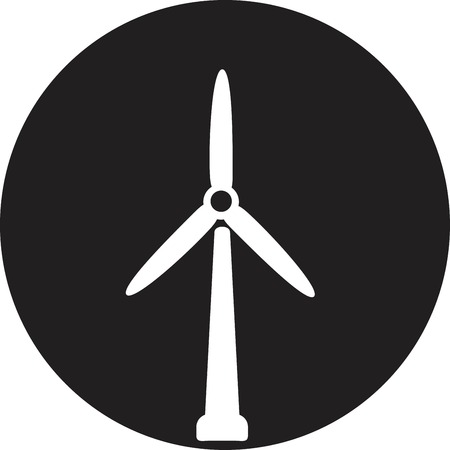 Wind Turbine, vector Vector