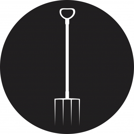 Garden tools (silhouette) Vector