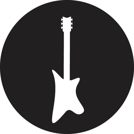 Guitar - vector illustration Vector