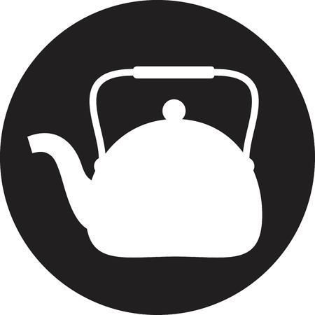 teakettle: Tea maker ( Kitchen Icon ) Illustration