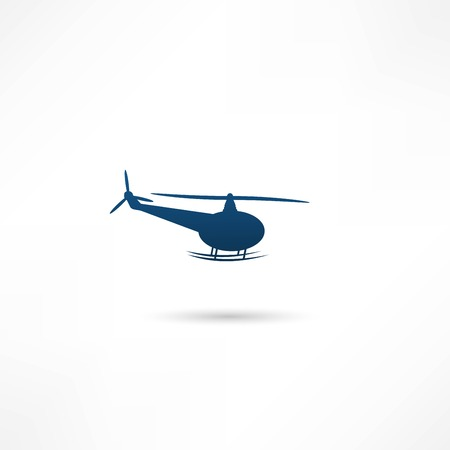 sikorsky: Helicopter - vector illustration