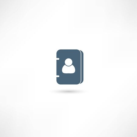 Vector address book icon Vector