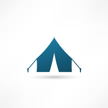 Tent icon, Vector illustration Vector