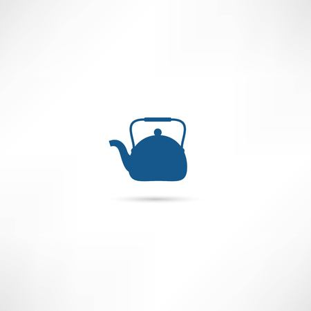 Tea maker ( Kitchen Icon ) Vector